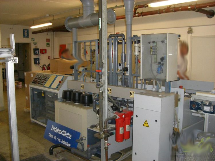 Schmid Rinse and Drying Unit
