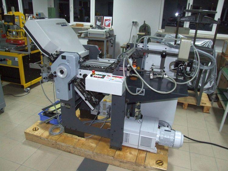 Heidelberg Stahlfolder TI-36 4/1, Folding machine for pharmacy