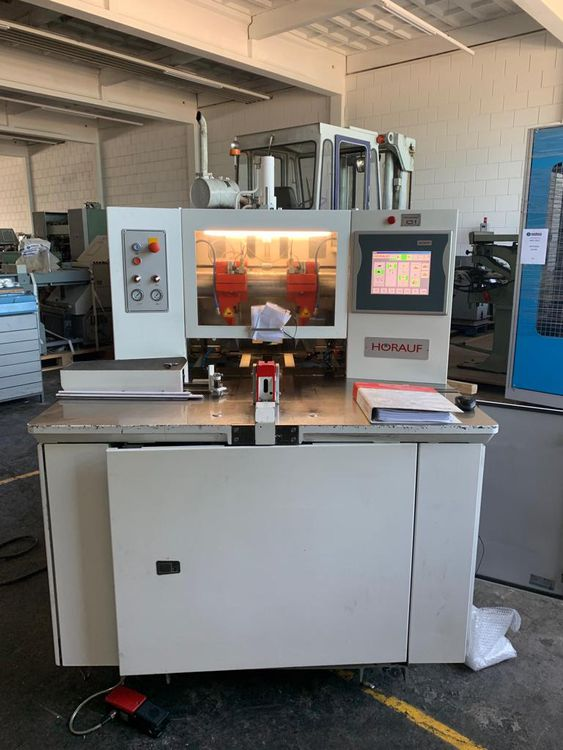 Horauf SN140 Demand, Automatic three knife trimmer