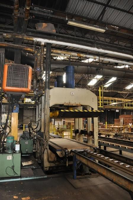 Valette panel press 410 ton