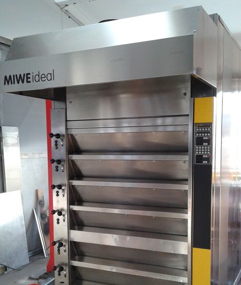 Miwe ideal double-circuit oven