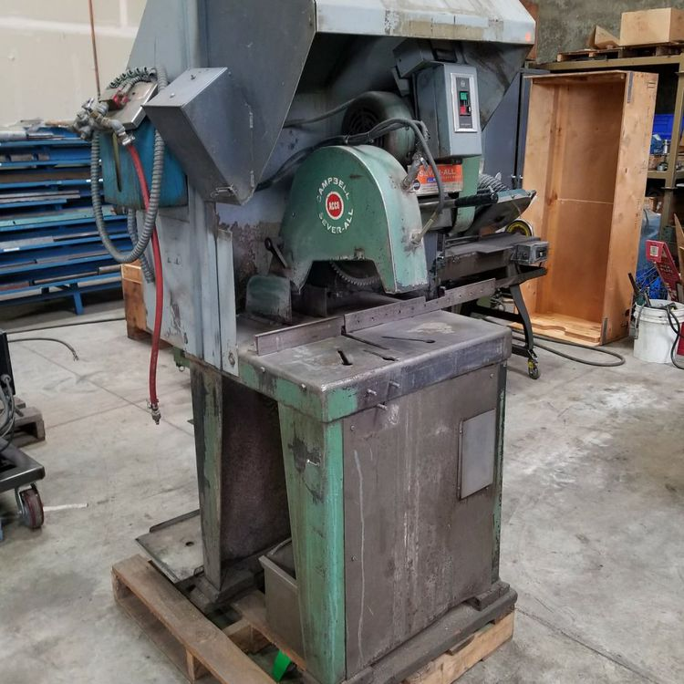 1A Sever-All Abrasive Cut Off Saw Semi Auto