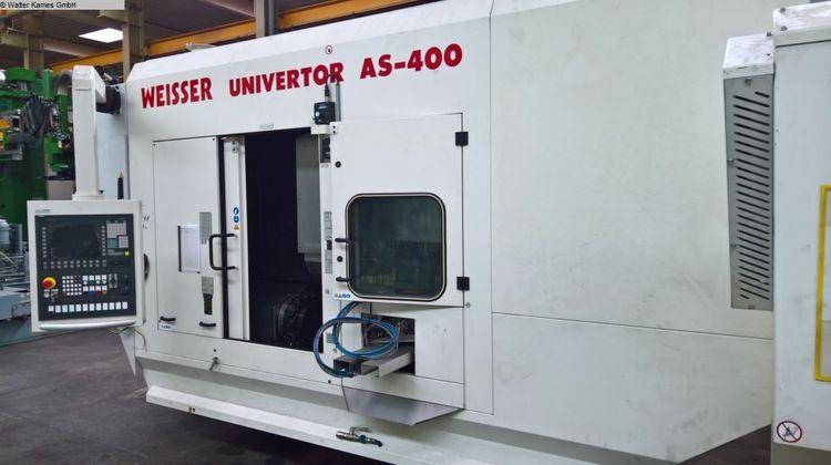 Weisser CNC control SIEMENS 840D 4500 U/min Univertor AS 400 2 Axis