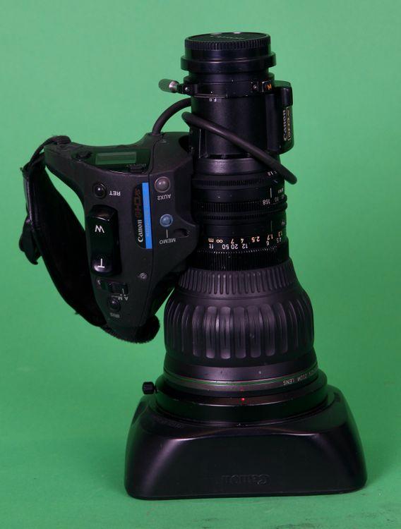 Canon HJ22x7.6BIASe HD lens