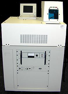 Lumonics III, Wafer marking system