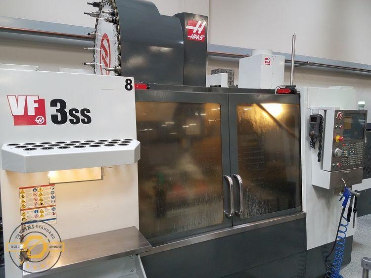 "Haas VF-3SS APC X: 40"", Y: 20"", Z: 25"""