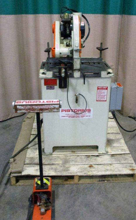 Pistorius SC-12P, Single Cut-off Saw