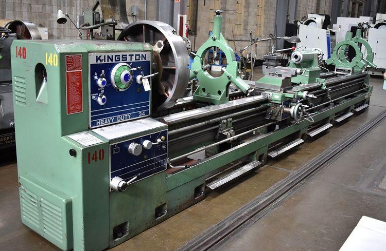 Kingston Engine Lathe 800 rpm HR-6000 MANUAL ENGINE LATHE HR-6000