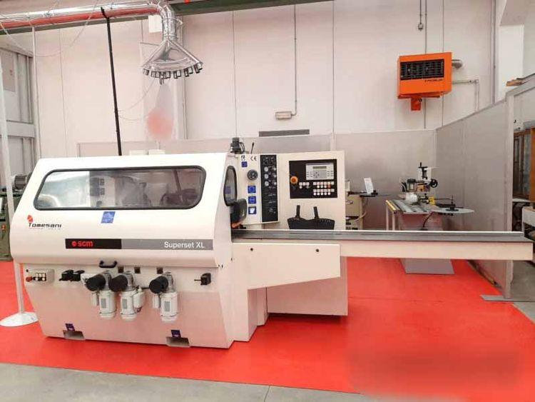 SCM SUPERSET-XL, Automatic moulding machine