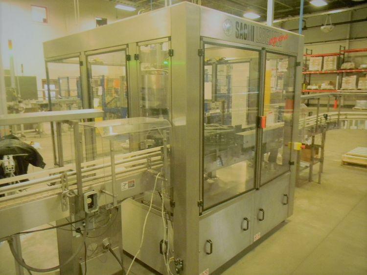 Sacmi AD 9T S1/E1 Opera Rotary Pressure Sensitive Labeler