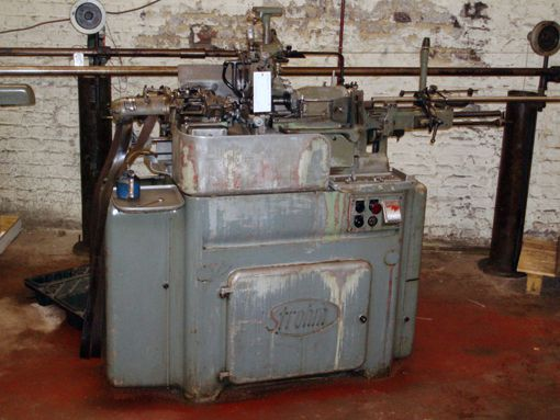 Strohm Engine Lathe Variable 125