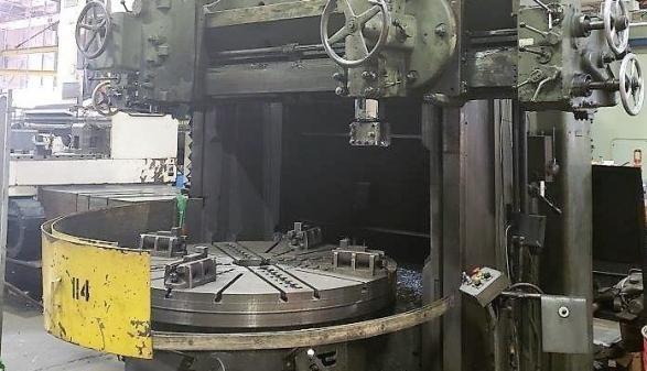 Schiess 78″ Vertical Boring Mill