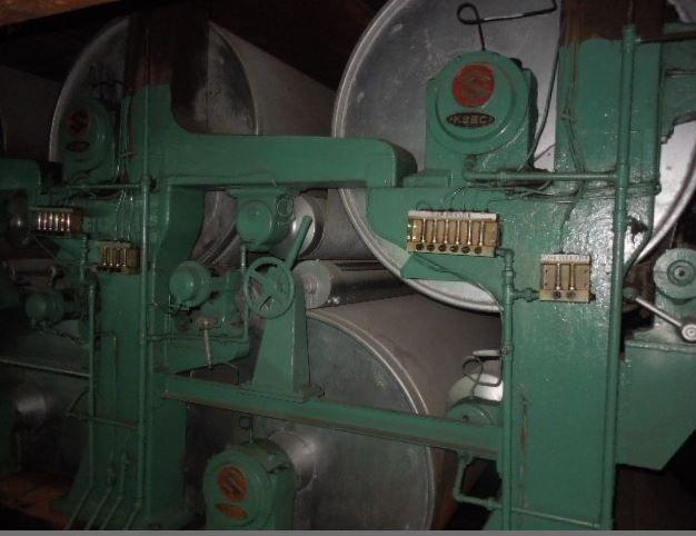 Japan, Korea Duplex board paper machine 3400 mm max 500 gsm 350 avg ( 450 TPD max)