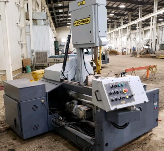 HydMech V-18 VERTICAL BAND SAW Semi Automatic