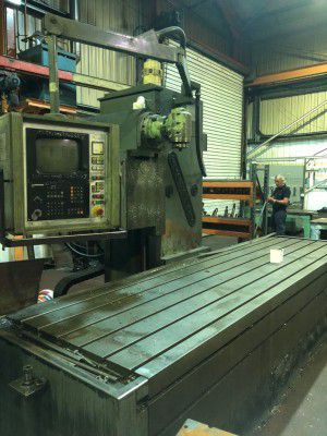 Butler Elga Mill CNC Variable