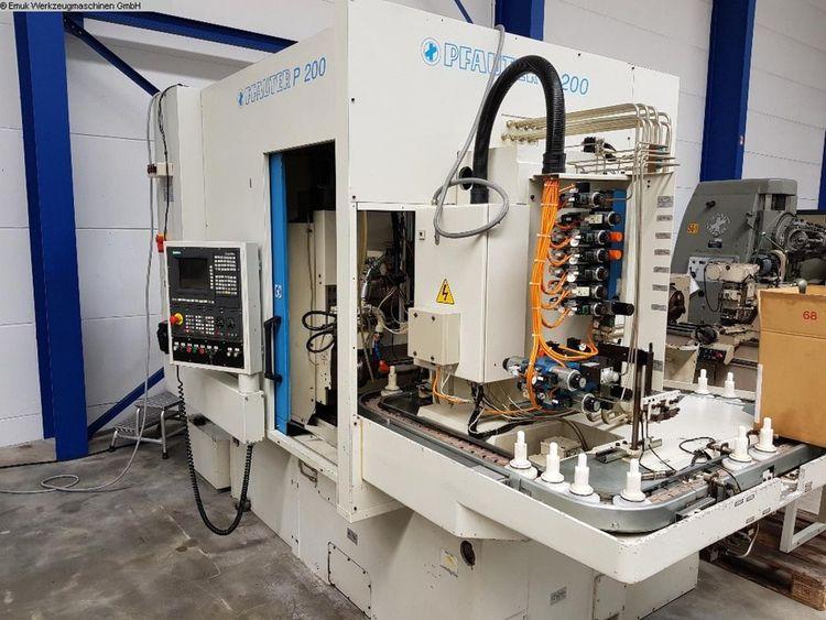 Pfauter P 200 CNC 1250 rpm CNC controlled Gear Hobbing Machines