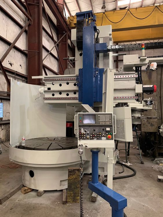 Toshiba TUE-15 High Column CNC Vertical Boring Mill