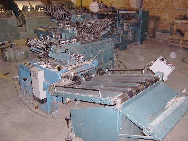 Baum 700B 32 PAGE, Folding machine