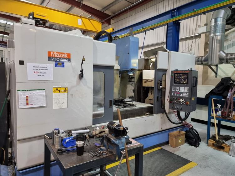 Mazak VTC 30 C Vertical Machining centre with 4rth axis 4 Axis