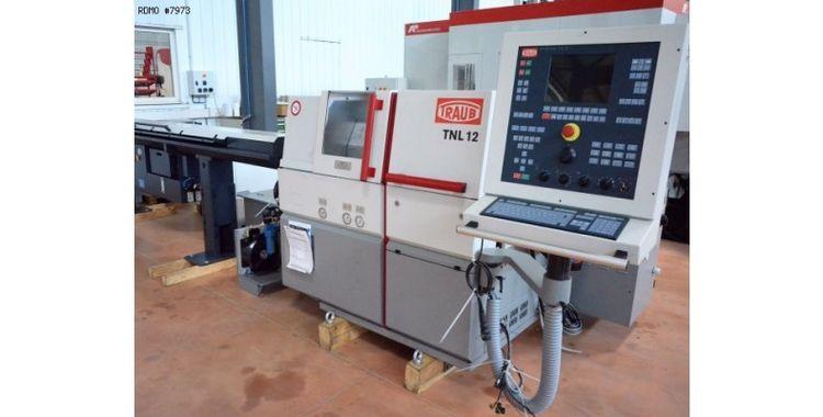 Traub CNC TRAUB TX 8i control 12000 rpm TNL 12/7 2 Axis