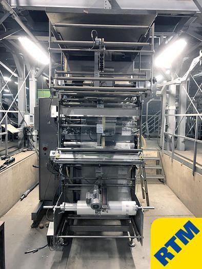 Rovema VPL 400 vertical form fill seal Bagging Machine