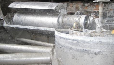 Krofta 4.572 MM S/S CLARIFIER WITH AIR TUBE.