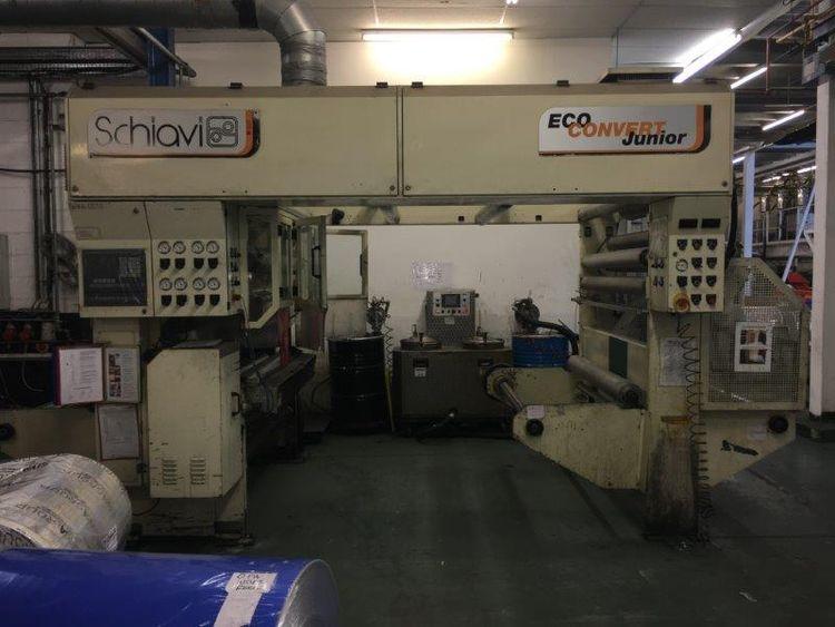 Schiavi Eco-convert Solventless Laminator