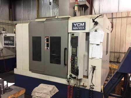 YCM NSV 102A 3 Axis
