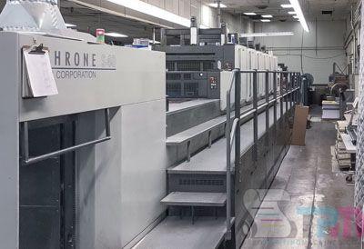 Komori Lithrone LS640+CX 28 x 40 inch