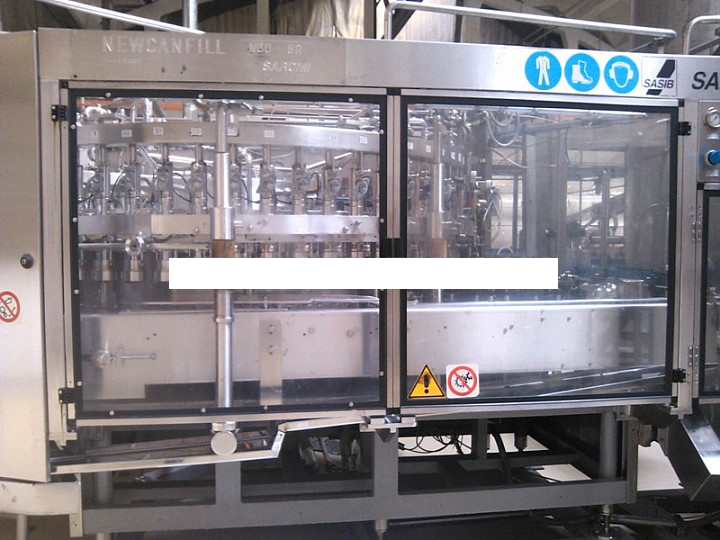 Sarcmi New Canfill N60 - 8R, Can Filler Seamer