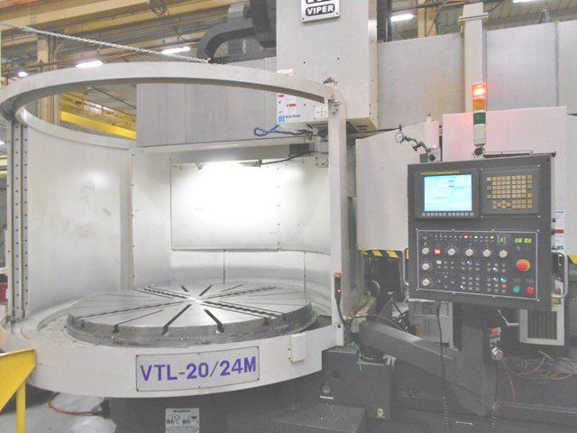 Mighty Viper 20/24M CNC Vertical Boring Mill 2000 RPM