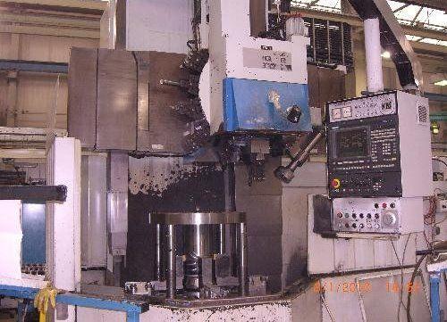 TOS SIEMENS Sinumerik 820T Max. 250 U/min SKIQ 12 CNC B 2 Axis Vertical Turret Lathe - Single Column