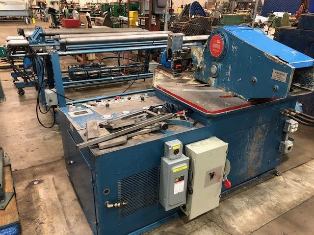 Helix, Spiral 200-H Spiral Duct Automatic Tubeforming Machine
