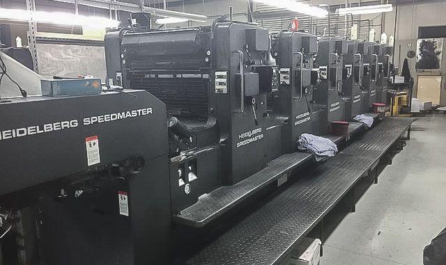 Heidelberg Speedmaster SM72S 20 x 28 inch