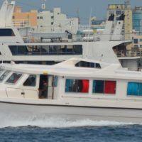 13.71m x 3.67m x 0.3m Fiberglass Passenger Speed 44 passengers& 3 crew