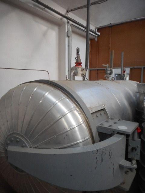 Obem vacuum steamer (yarn treatment process)