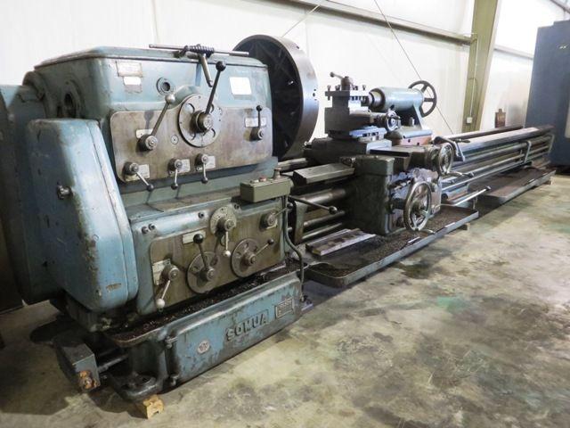 "Somua Heavy Duty Engine Lathe 800 RPM 36"" x 170"" Somua"