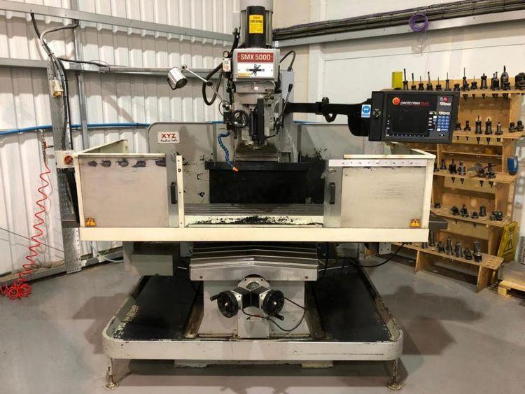 XYZ SMX5000 CNC Mill. Prototrak SMX Control. CNC Mill. Prototrak SMX Control. Variable