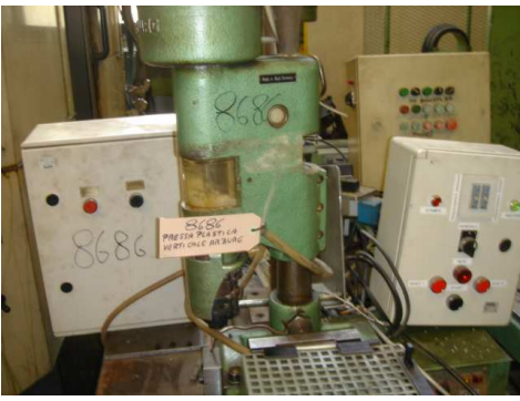 Others Vertical press for plastic