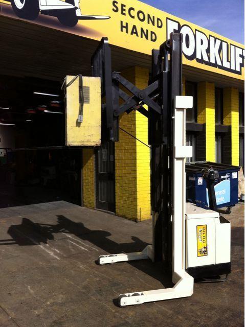 Crown MT Walkie Stacker with Reach 1.5 Tonne