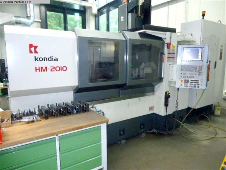 Kondia HM 2010 3 Axis