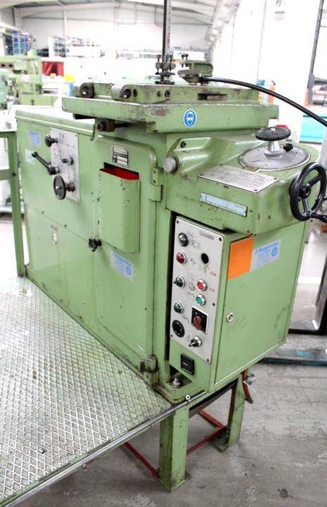Maillefer MAC 500 H hydraulic vertical keyseating machine