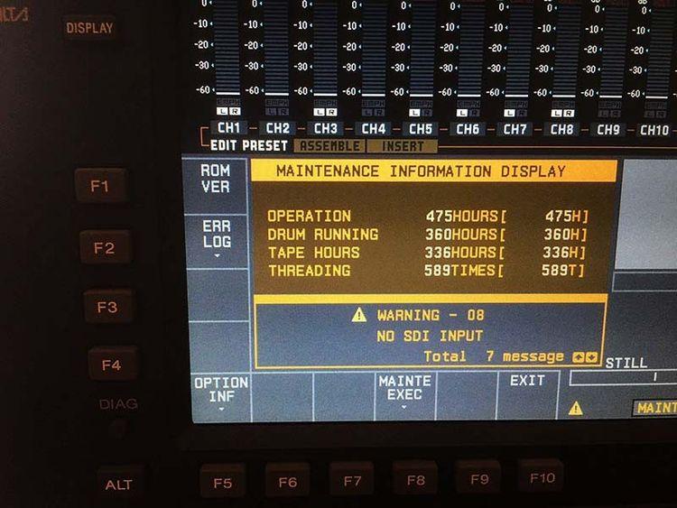 Sony SRW-5800/2 Recorder