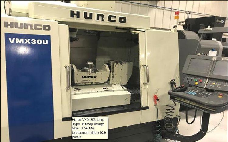 Hurco VMX-30U/5-Axis VMC 5 Axis