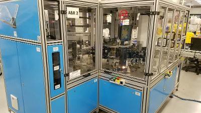 MBPV-2,  8  Station A & R Automation Robotics Auto Blocker