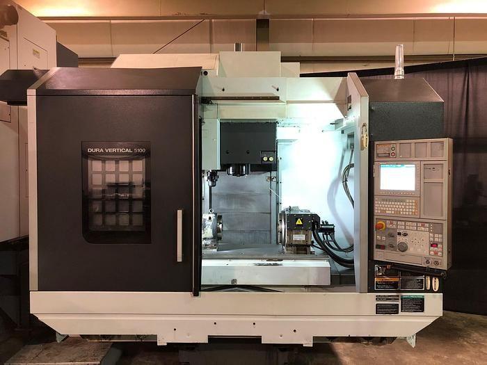 DMG CNC Control 12000 rpm DMG Mori DV5100 3 Axis