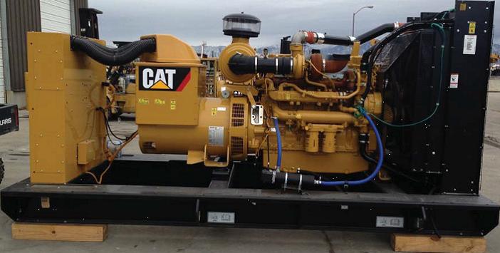 Caterpillar C15 500 kW Standby