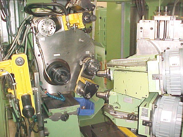 Praewema WA 400 3000 rpm CNC Gear Tooth Deburring Machine, continuous milling method