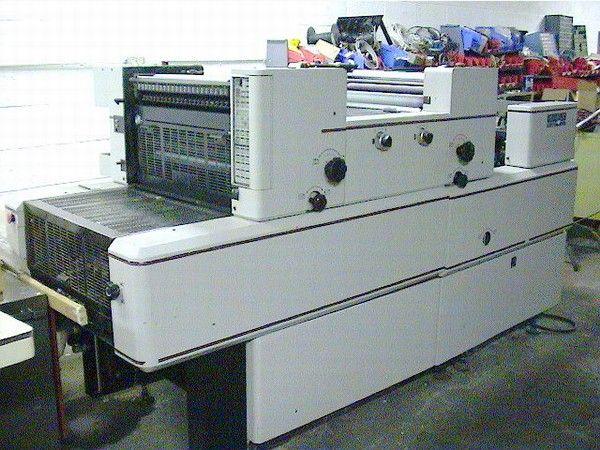 "Eagle Multigraphics 5220, 2 colors Offset machine 14""x20.5"""