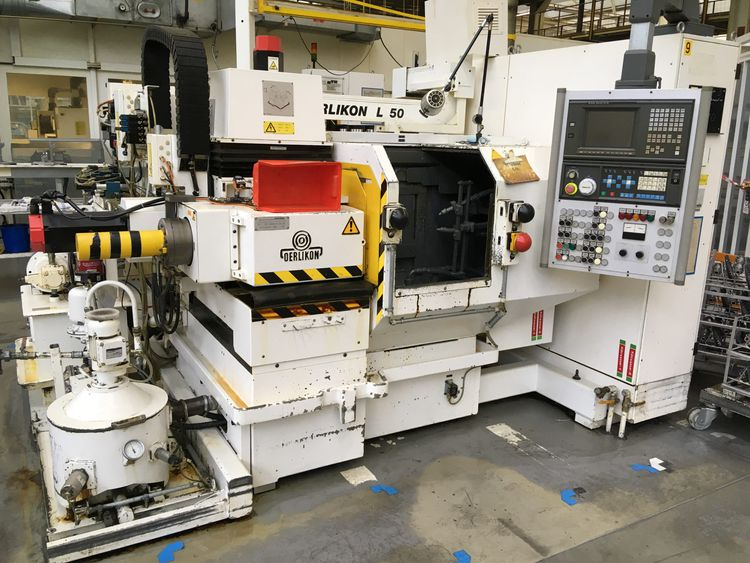 Klingelnberg, Oerlikon Klingelnberg/Oerlikon L50 Variable BEVEL GEAR LAPPING MACHINES